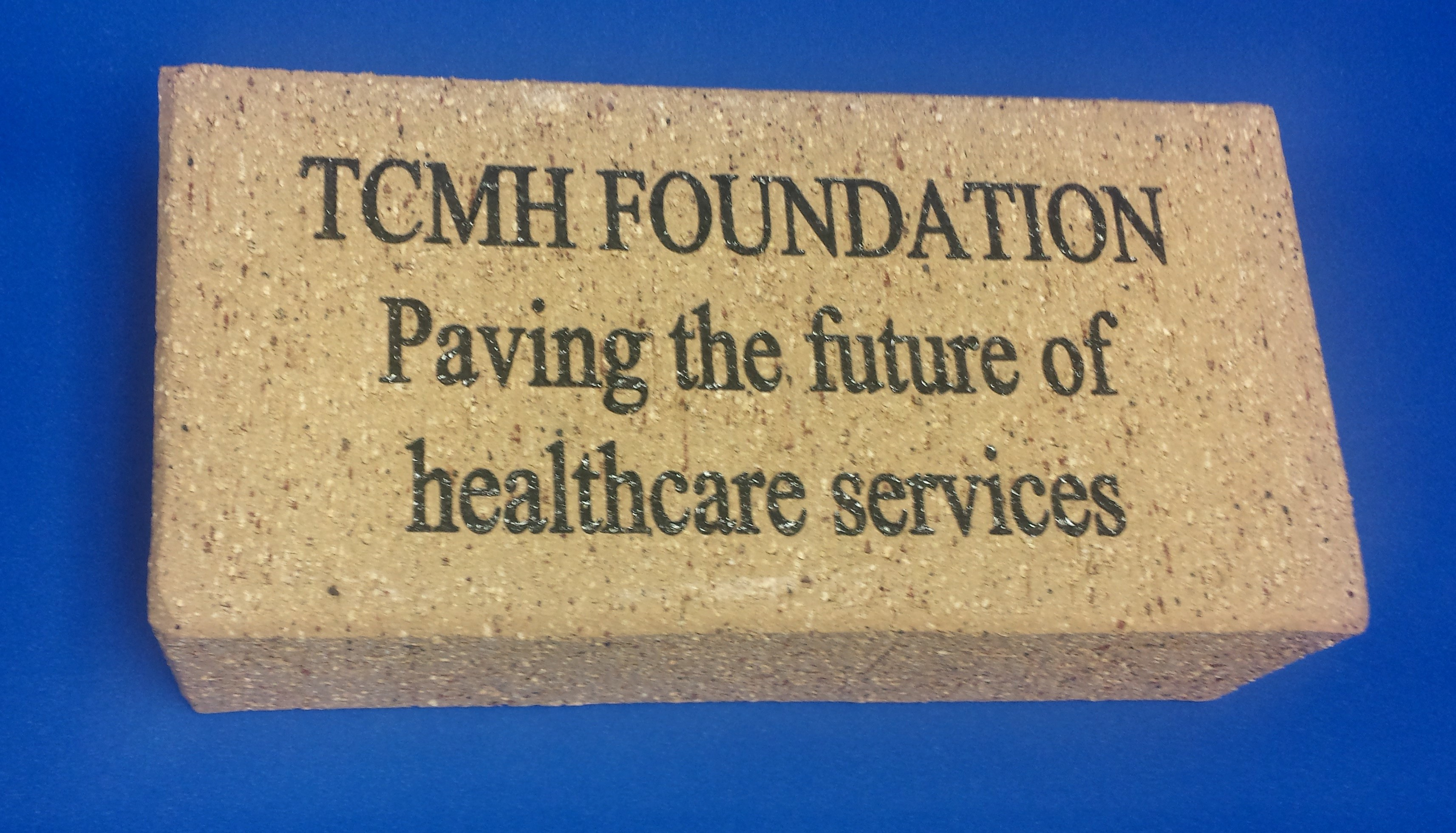 Texas County Memorial Hospital (TCMH) Healthcare Foundation invites you to invest in the future of quality health care by supporting our brick paver program.